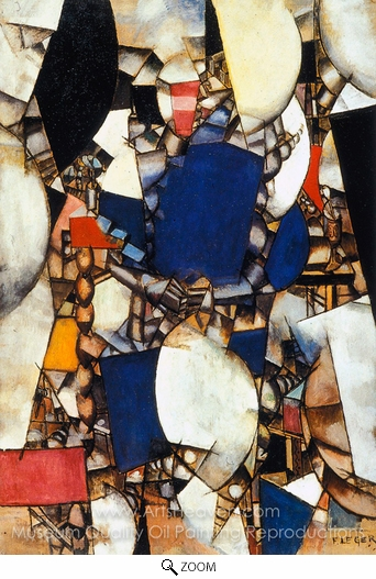 Fernand Leger, Woman in Blue oil painting reproduction
