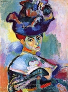 Woman with Hat (Femme au Chapeau) painting reproduction, Henri Matisse