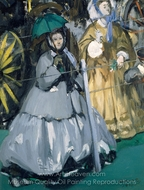 Women at the Races painting reproduction, �douard Manet