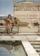 Xanthe and Phaon painting reproduction, Sir Lawrence Alma-Tadema