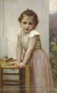 Yvonne painting reproduction, William A. Bouguereau