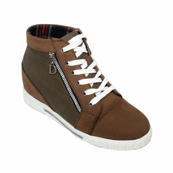 CALDEN - K9003 - 3 Inches Taller (Brown) - Women only - Discontinued