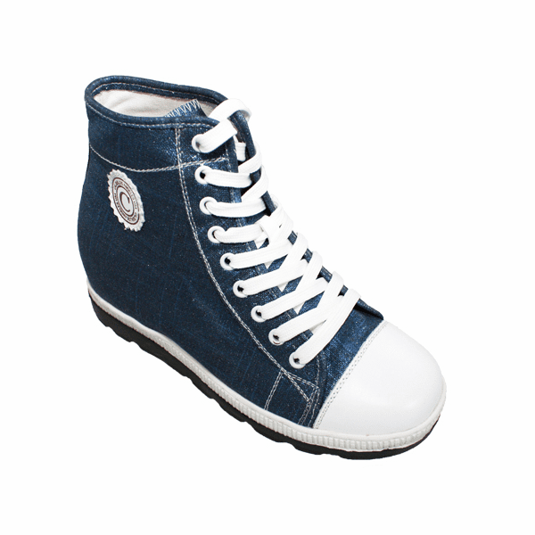 CALDEN - M106 - 3 Inches Taller (Blue & White) - Women Only - Discontinued