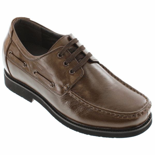 CALTO - G7058 - 2.8 Inches Taller (Coffee Brown) - Lightweight - Discontinued