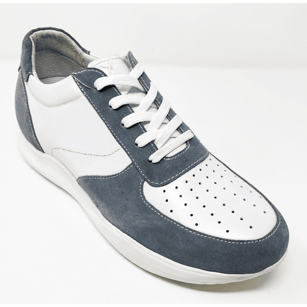 FSE0059 - 2.8 Inches Taller (GREY/WHITE) - Size 8 Only