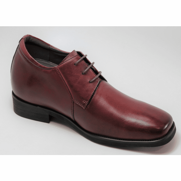 FSJ0025 - 3 Inches Taller (Burgundy) - Size 7.5 Only - Discontinued