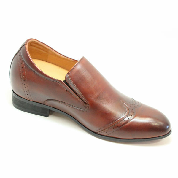 FSL0024 - 2.8 Inches Taller (Dark Brown) - Size 7.5 Only - Discontinued