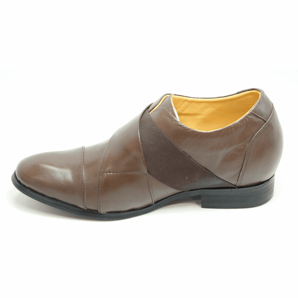 FSL0032 - 2.8 Inches Taller (Dark Brown) - Size 7.5 Only - Discontinued