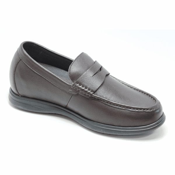FSM0027 - 2.8 Inches Taller (COFFEE) - Size 7.5 Only