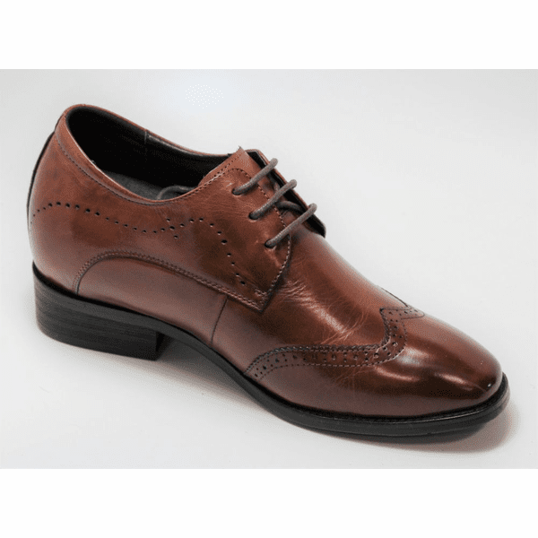 FSO0023 - 3.2 Inches Taller (DARK BROWN) - Size 6 Only - Discontinued