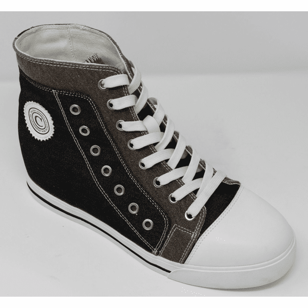 FSW0030 - 3.6 Inches Taller (BLACK/GREY)  - Size  9  Only - Discontinued