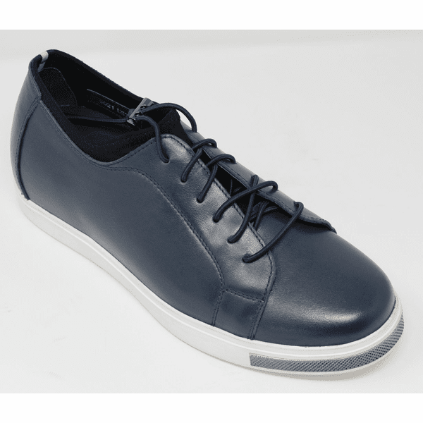 FSW0035 - 2 Inches Taller (DARK BLUE)  - Size  7.5  Only - Discontinued