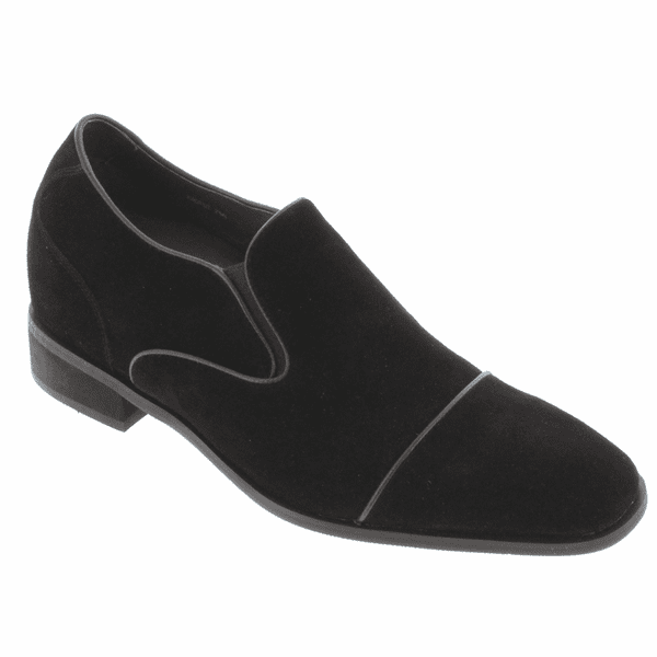 TOTO - A6502 - 2.8 Inches Taller (Nubuck Black) - Size 9 / 10 / 12 Only