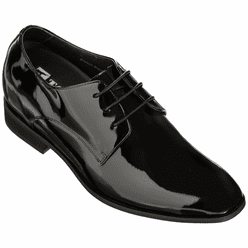 TOTO - D16026 - 3 Inches Taller (Black Patent Leather)