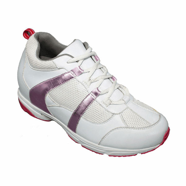 TOTO - W0830 - 2.6 Inches Taller (White / Pink) ~ Women