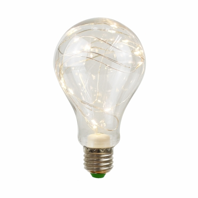LED Fairy A80 A-Style Edison Shatterproof Light Bulb, E26, 3W(25W Equivalent)