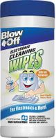 (12 CASE) 40 Blow Off Anti-Static Electronics Cleaning Wipes