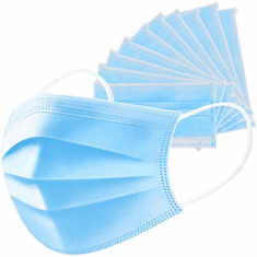 Face Mask-Disposable Protective Mask - Package/50