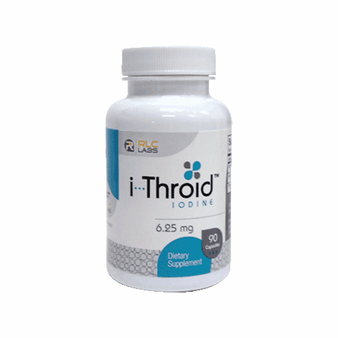 i-Throid™ 6.25mg 90 vcaps by RLC Labs