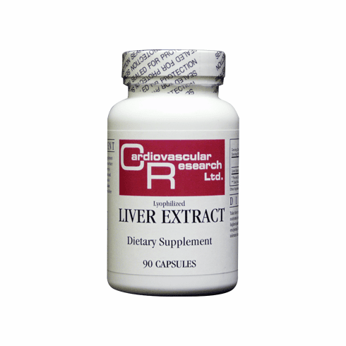 Liver Extract 550 mg 90 C by Ecological Formulas