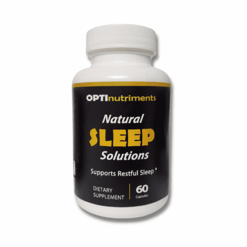 Natural SLEEP Solutions by OPTInutriments