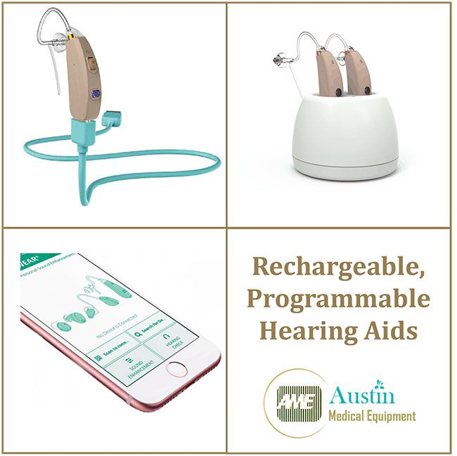 Rechargeable, Programmable Hearing Aids
