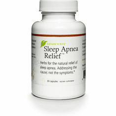 Sleep Apnea Relief 30 caps by Nature's Rite