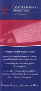 110th U.S. Congress Directory (2007)