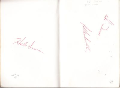 1976 PGA Tour Westchester Classic autographed book Charles Coody Hale Irwin Tom Kite Dave Stockton
