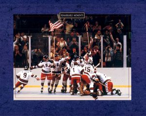 1980 Miracle on Ice USA Olympic Hockey Team 8x10 celebration photo OFFICIALLY LICENSED