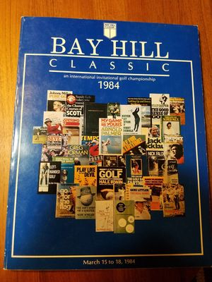 1984 Bay Hill Classic PGA Tour golf tournament program