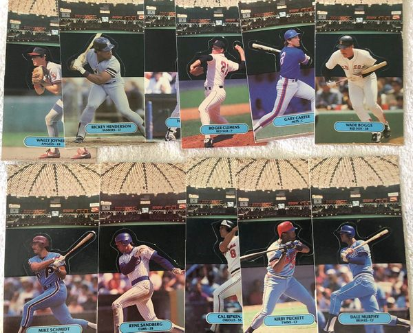 1987 Donruss Pop-Ups partial set (Tony Gwynn Kirby Puckett Cal Ripken Ryne Sandberg)