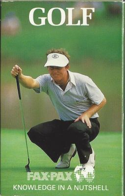 1987 Fax Pax golf card set (Jack Nicklaus Payne Stewart Tom Watson)