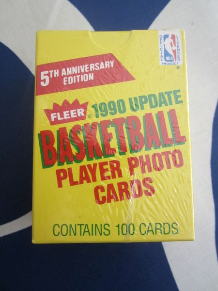 1990-91 Fleer Update NBA basketball card set FACTORY SEALED with Gary Payton RC