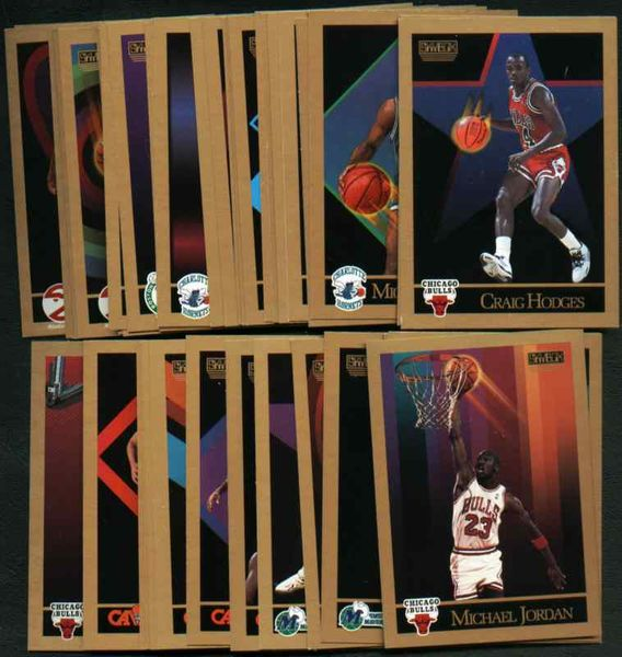 1990-91 SkyBox NBA basketball card near complete Series 1 and 2 set (Michael Jordan)