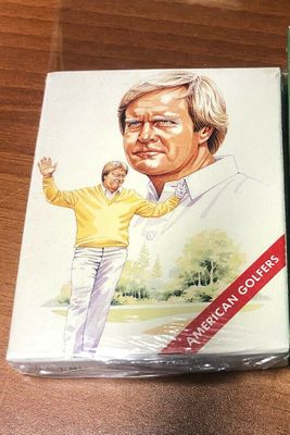 1990 American Golfers complete golf card set NEW SEALED (Jack Nicklaus Arnold Palmer Tom Watson)