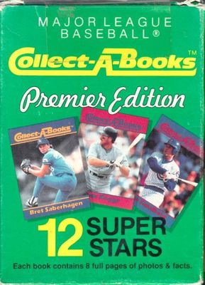 1990 Collect A Books partial set of 12 (Roberto Clemente Lou Gehrig Kirby Puckett Ryne Sandberg)
