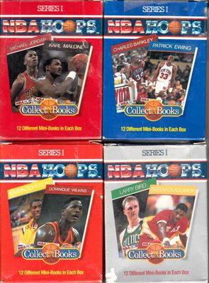 1990 NBA Hoops Collect A Books complete set of 48 (Michael Jordan Charles Barkley Larry Bird Magic Johnson)