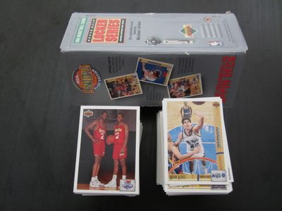 1991-92 Upper Deck NBA Basketball 400 card set in Michael Jordan Locker Series box