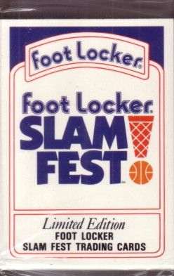 1991 Foot Locker Slam Fest 30 card set (Barry Bonds Wilt Chamberlain Ken Griffey Jr Bo Jackson)