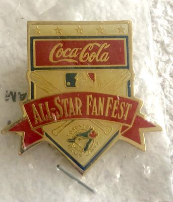 1991 MLB All-Star FanFest (Toronto Blue Jays) gold pin