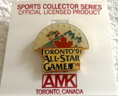 1991 MLB All-Star Game (Toronto) pin NEW