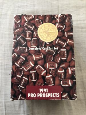 1991 Star Pics Pro Prospects complete 112 football card set in box (Brett Favre)
