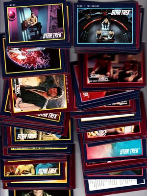 1991 Star Trek 25th Anniversary Series 2 partial card set (Impel)