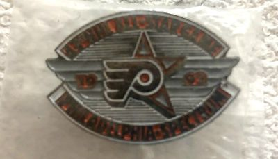 1992 NHL All-Star Game Philadelphia Flyers logo pin