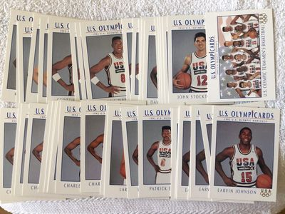 1992 Impel US Olympic Dream Team lot of 44 cards Larry Bird Charles Barkley Magic Johnson