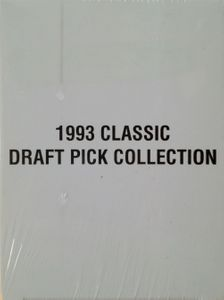 1993 Classic 4-Sport Draft Picks 325 card factory set (Jerome Bettis Chris Pronger Manon Rheaume Alex Rodriguez Chris Webber)