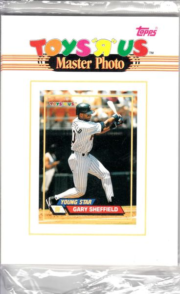 1993 Stadium Club Toys R Us complete sealed set of 12 5x7 Master Photo cards (Ken Griffey Jr. Ivan Rodriguez Frank Thomas)