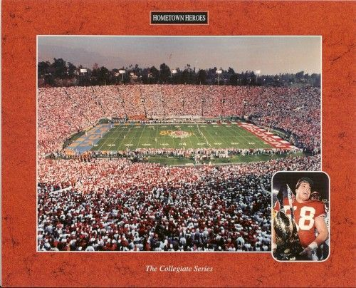 1993 Wisconsin Badgers Win 1994 Rose Bowl 8x10 photo