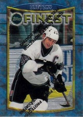 Los Angeles Kings 1994-95 Topps Finest team set with Wayne Gretzky (missing one)